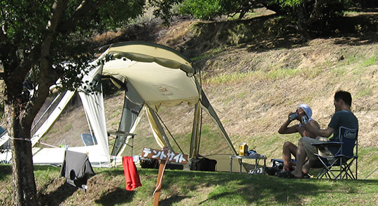 テント専用サイト