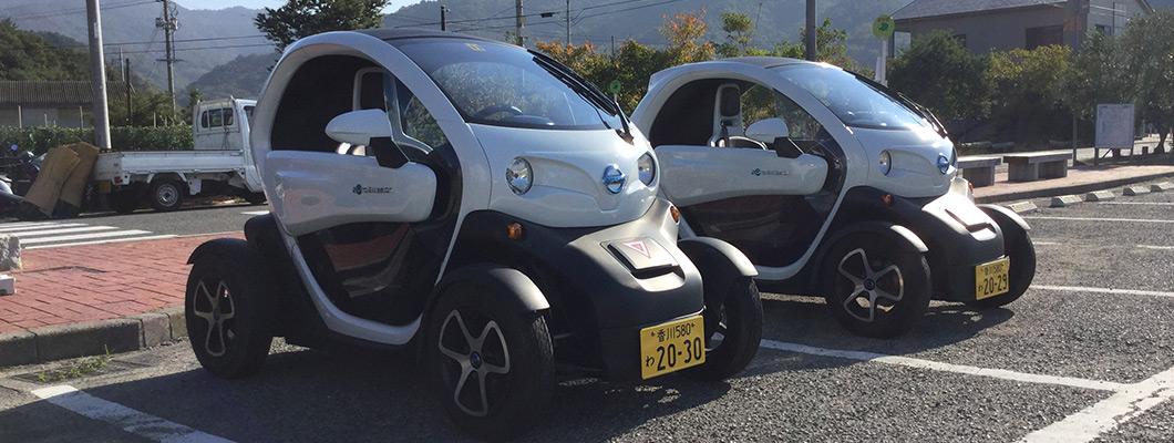電気自動車「豆モビ」