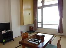 国民宿舎小豆島は日本夕日百選の地に建つ宿です