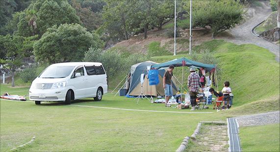 充実した設備、美しい自然環境でキャンプ&アクティビティ