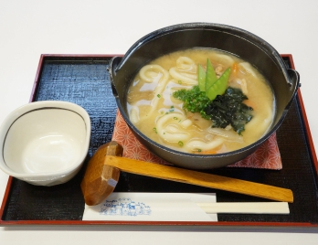 味噌煮込みこびきうどん ¥700