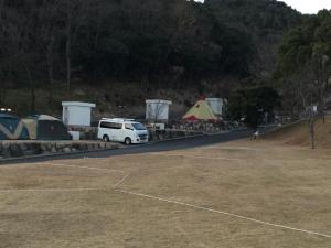 年末年始キャンプ場